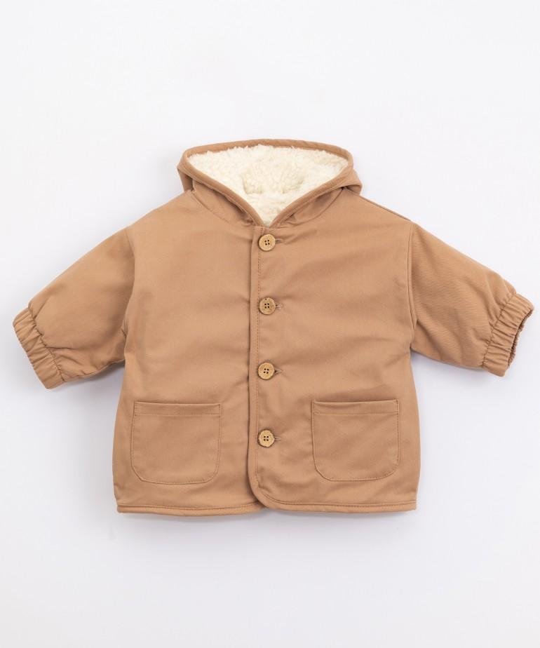 Serge jacket with waterproof finish