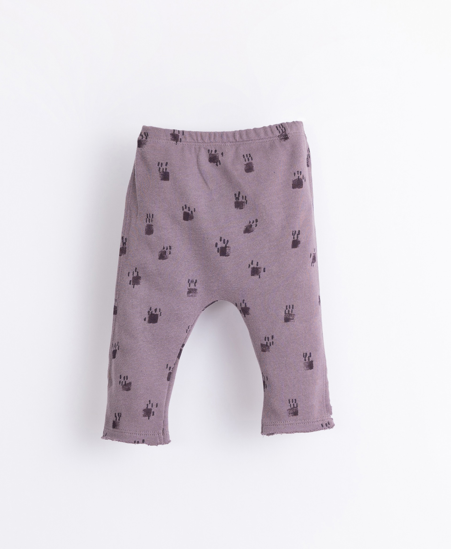 Leggings con patrón de algodón orgánico | Illustration