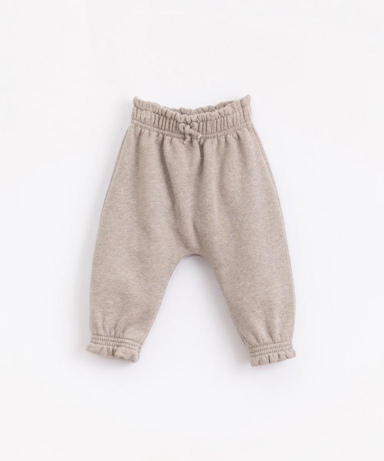 Pantalón de punto de algodón
