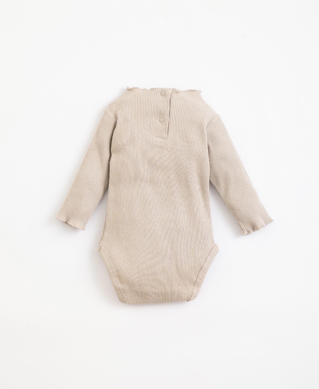 Body de algodón orgánico y algodón reciclado | Illustration