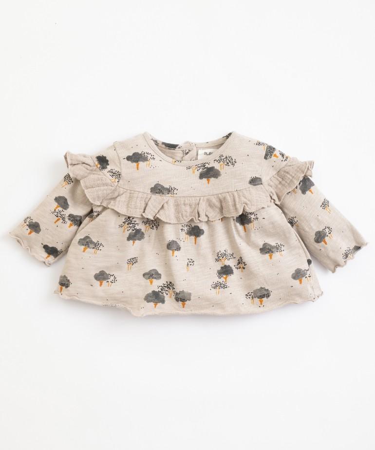 Organic cotton and cotton tunic