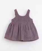 Vestido de pana de algodón orgánico | Illustration