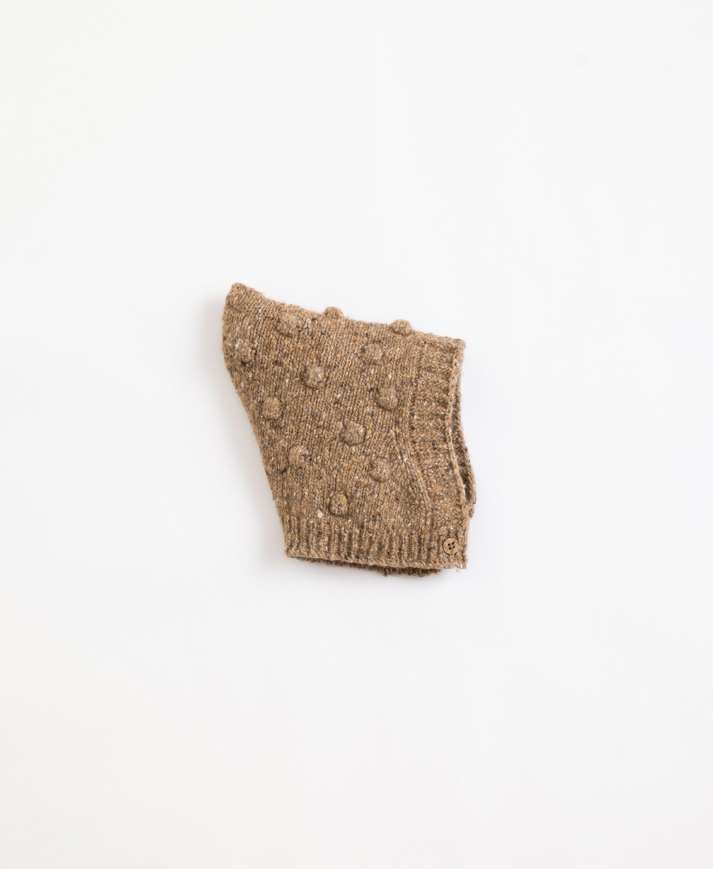 Gorro em malha tricot | Illustration