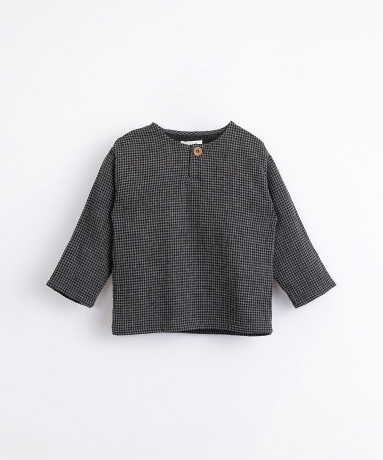 Camisa con patrón vichy