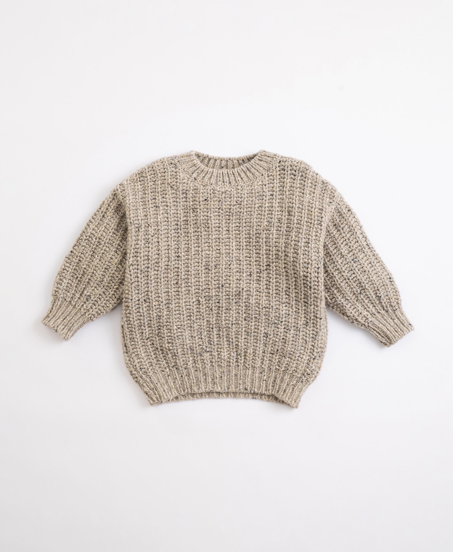 Maglione lavorato a maglia | Illustration