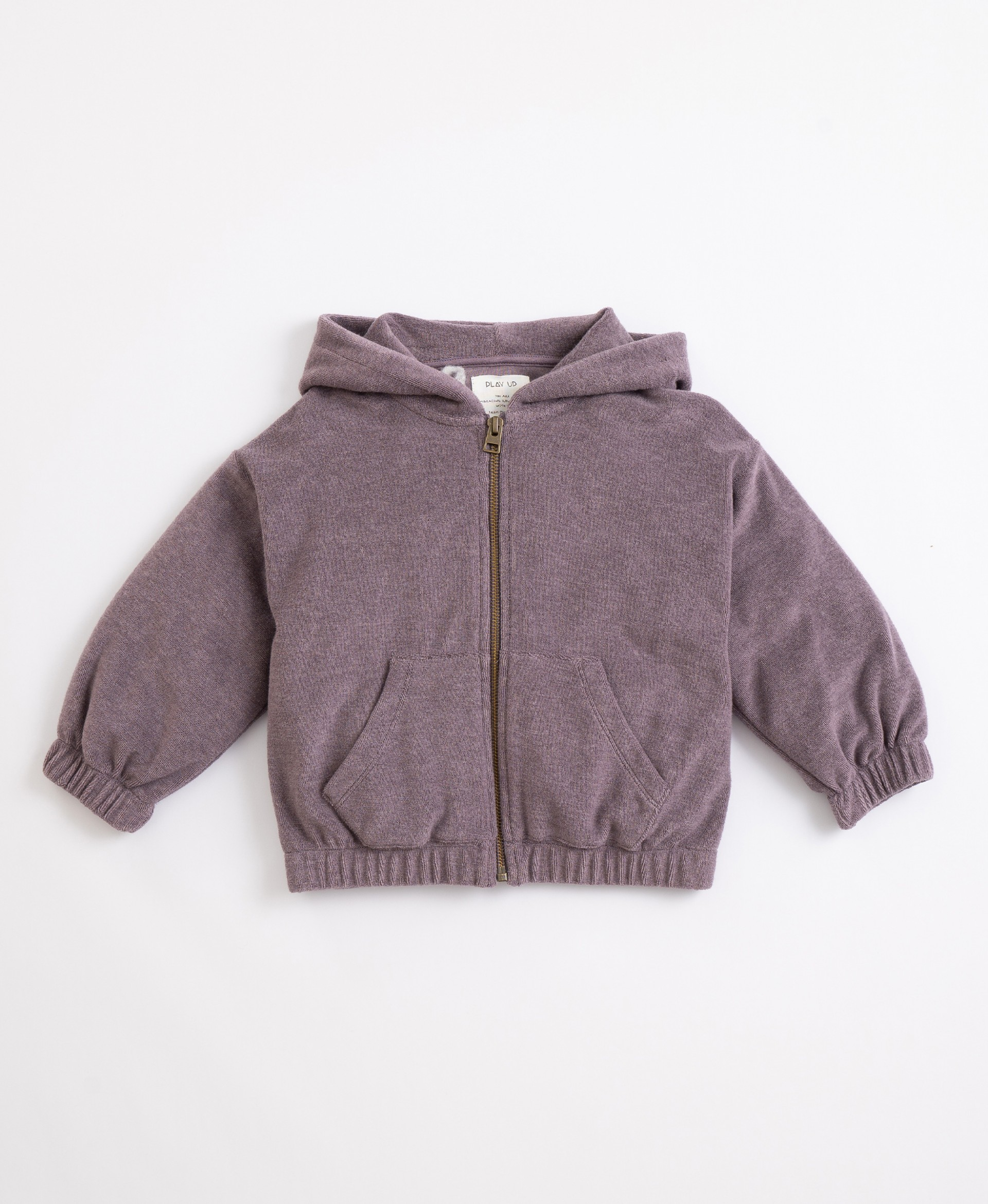 Jacket in organic cotton and recycled cotton | Illustration