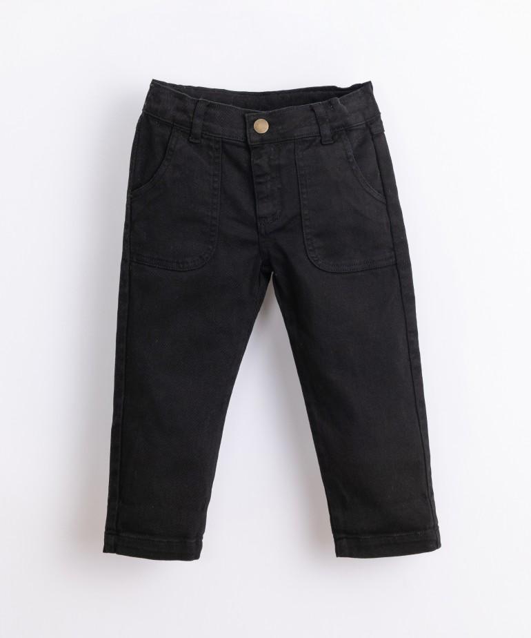 Pantaloni di twill di cotone