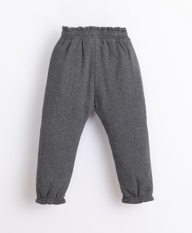 Jersey-stitch cotton trousers | Illustration