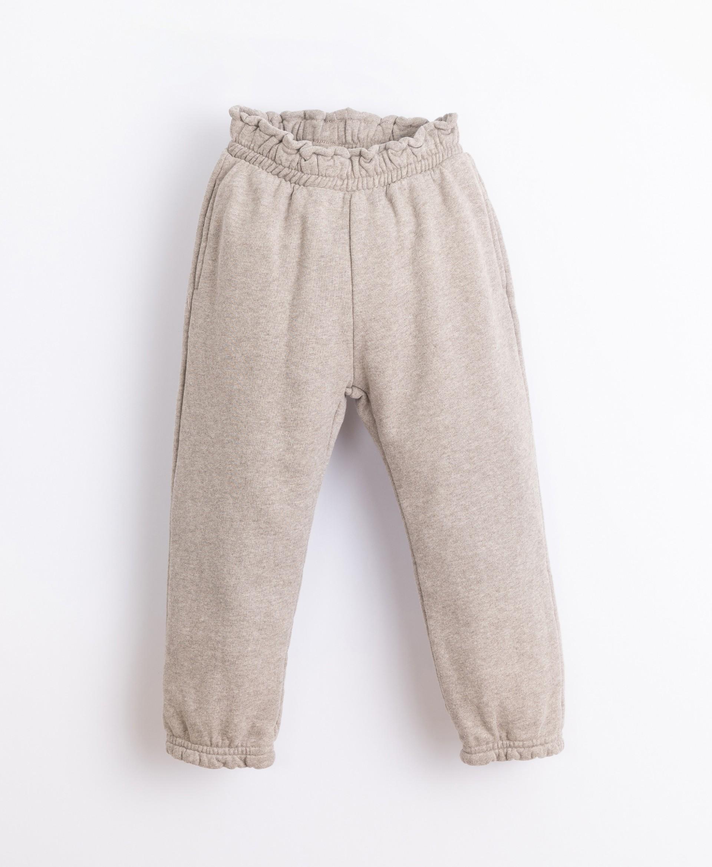 Pantalón de punto de algodón | Illustration