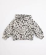 Camisola em algodão com capucho | Illustration