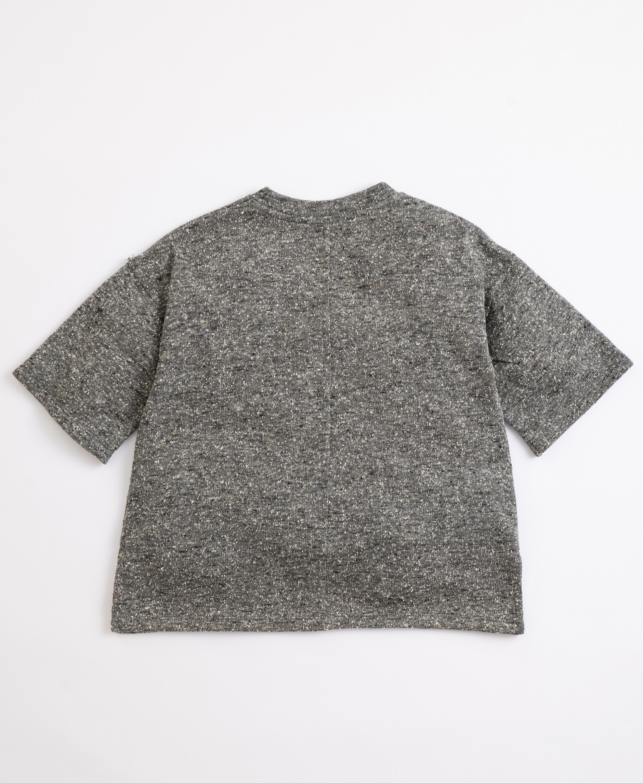Vestito con fibre riciclate | Illustration