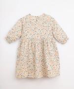 Vestido em algodão com estampado | Illustration