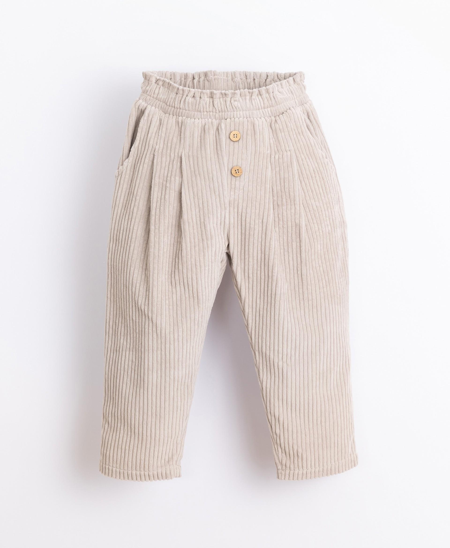 Pantaloni in bombasina di cotone biologico | Illustration