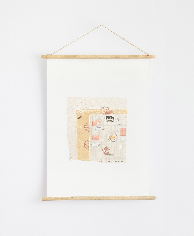 Poster com ilustração por Violeta Cor de Rosa | Illustration