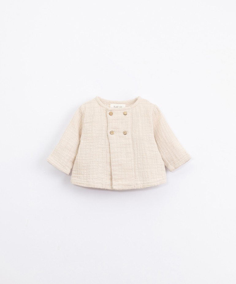 Woven cotton jersey