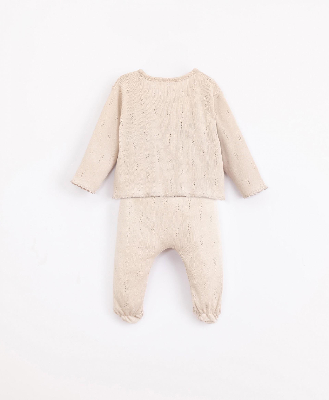 Conjunto em algodão orgânico | Illustration