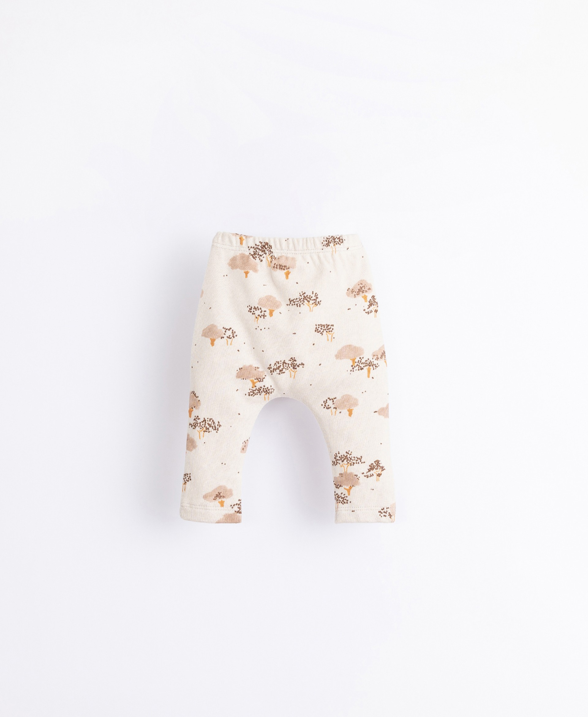 Leggings in organic cotton with a print | Illustration