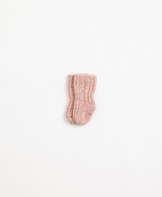 Meias tricot | Illustration