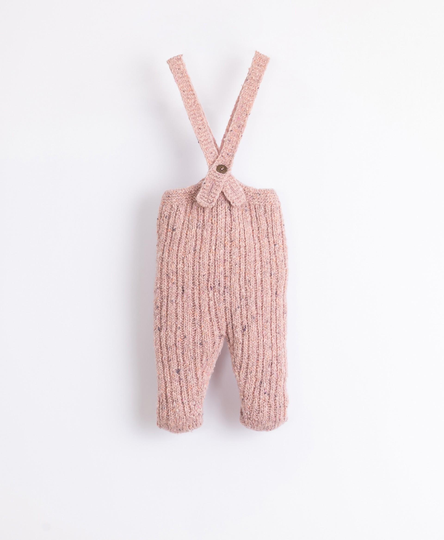 Leggings tricot com fibras recicladas   Illustration