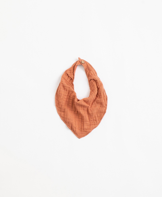 Babete de tecido com forro | Illustration