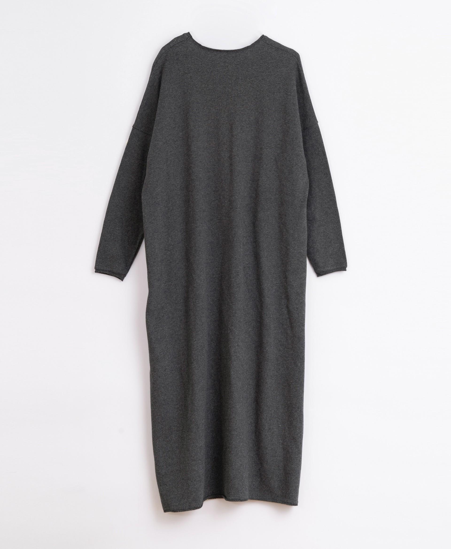 Vestido de punto de algodón orgánico | Illustration