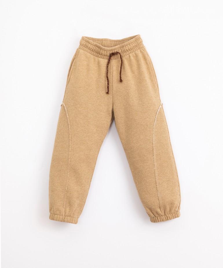 Pantalón de algodón con bolsillos