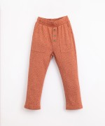 Organic cotton trousers with a pattern | Illustration