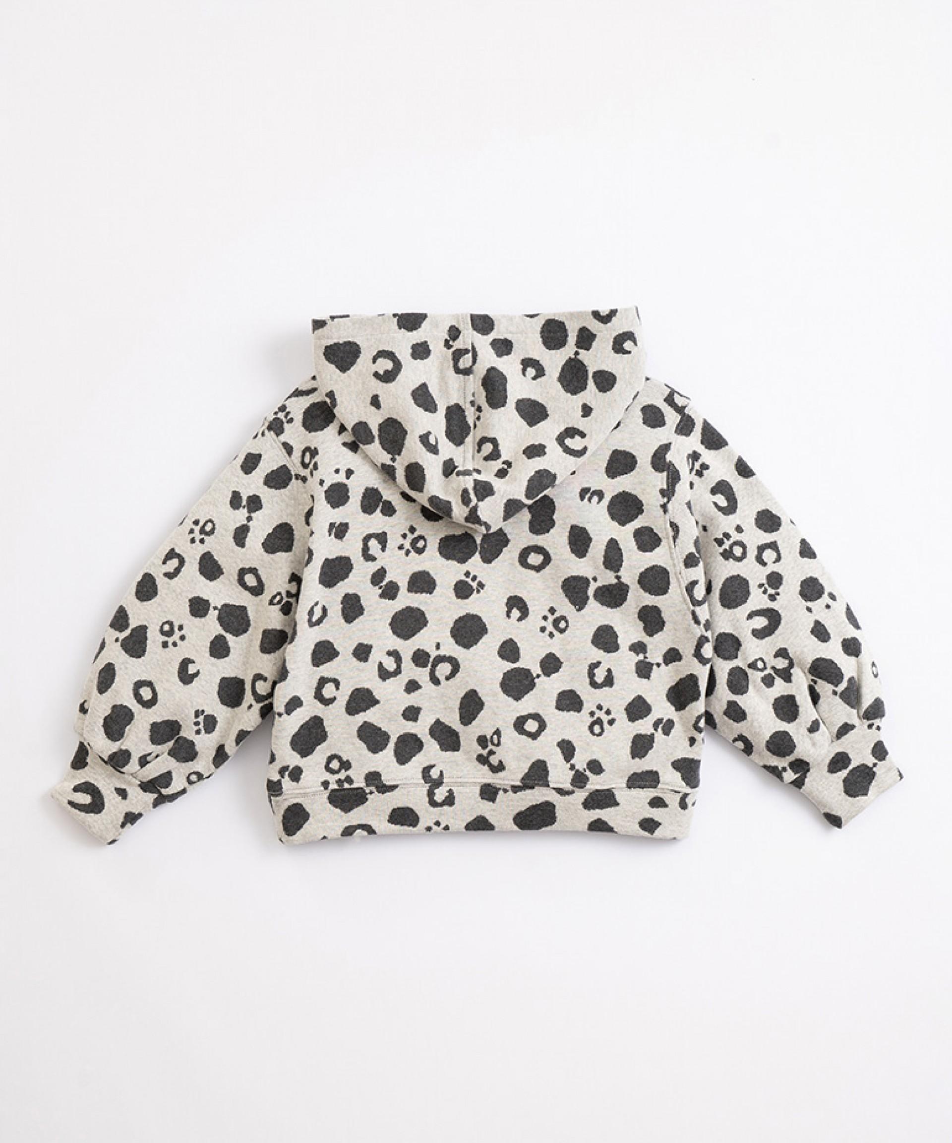 Jersey de algodón con capucha | Illustration