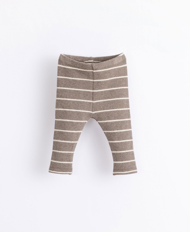 Leggings a maglia con cardatura all'interno | Illustration