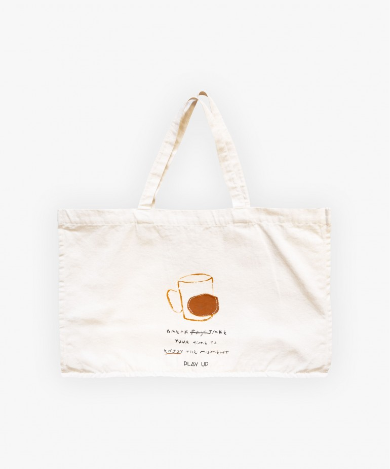 EMBROIDERED LARGE BAG