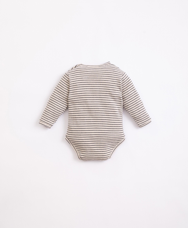 Body con fibre riciclate e cotone | Illustration