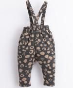 Pantalón de punto con tirantes removibles | Illustration