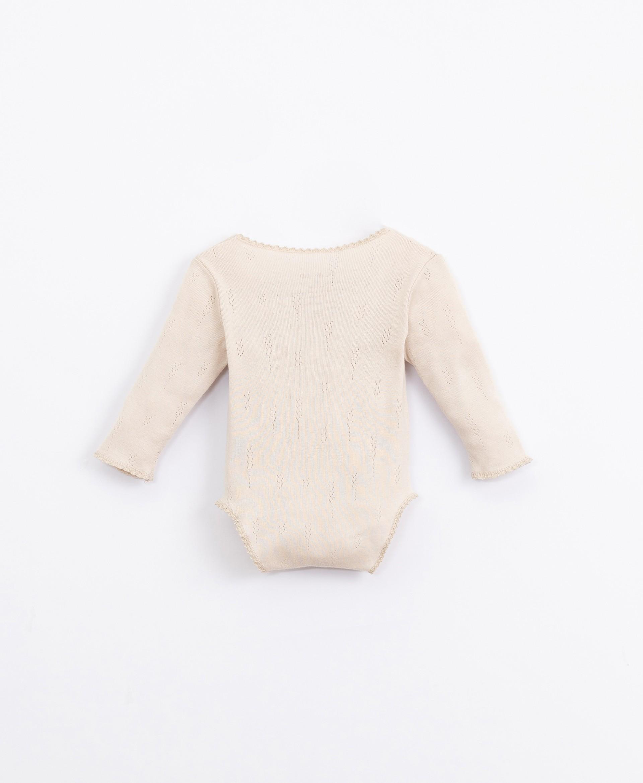 Completo maglia con fantasia ajour | Illustration